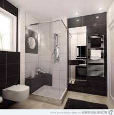 Black And White Bathroom Designs Interesting Decorating