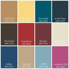 sherwin williams unity color palette color of the year 2018