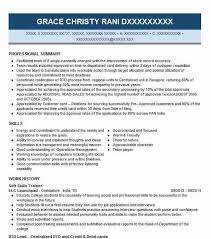 Resume Of Trainer Soft Skills Trainer Resume Sample Trainer Resumes Livecareer