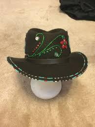 Native American Design Hats Beaded Black Felt Beadwork Designs Indian Beadwork Beads