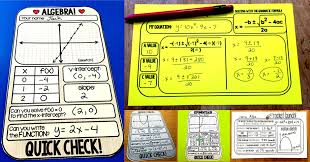 Math Templates Scaffolded Math And Science 4 Free Algebra And Algebra 2 Warm Up