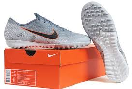Nike Futsal Shoes Size Chart Details About Nike Men Mecurial Vapor Xii Tf Cleats Futsal Gray Boot Spike Cleats Ah7384 408