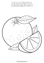 Disegni Di Frutta Invernale Da Colorare Pianetabambiniit