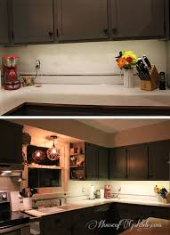 installing undercabinet lighting in under 30 minutes and for 25