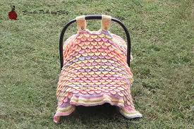 Crochet Car Seat Cover Pattern Free