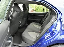 with the 2018 camry interior room and trunk volume shrink and lower seating hip points make it harder to get into and out of the car rear air