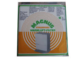 Details Zu Magnus Warmluftfilter Für öl Kohle Gas Kachel Ofen Staubfrei Filter
