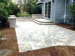 driveway pavers cost concrete driveway patio cost driveway pavers cost per square foot