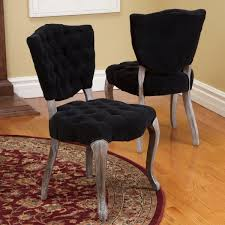french dining room chair slipcovers. Dining Room : Black Chair Cover With Some Addition Of Button In The Sit Side That Give Comfortable Feeling As Well Real Wodden French Slipcovers O