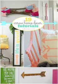 super cute arrow home decor tutorials diy