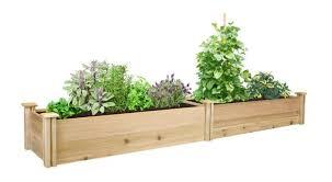 premium cedar raised garden bed 16 in