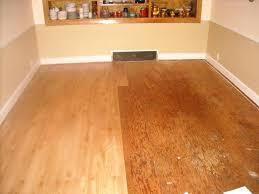 image of oak resilient vinyl plank flooring