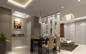 Ceiling design dining living room