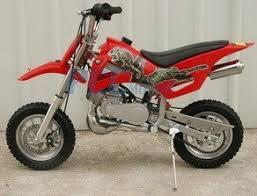 amazon com 49cc 50cc red 2 stroke gas motorized mini dirt pit