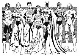 Small Picture Justice League Coloring Pages Best Coloring Pages For Kids