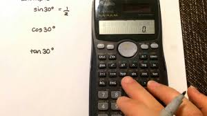 trigonometry calculating the ratio using your calculator casio fx 991ms you