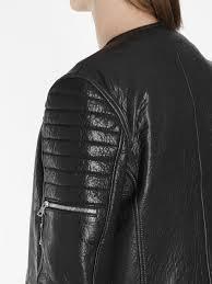 vestes en cuir balmain noir homme balmain men s black leather biker jacket noir