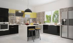 Modular Kitchen Buy Whitney L Shaped Modular Kitchen Online In India Livspacecom