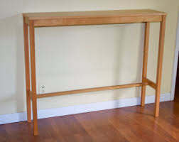 Console Table Design, Thin Tables Eksotic Entrancing Idea For Living Room  Decoration Ideas Using Rectangular