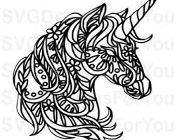 Download 139 unicorn face free vectors. Free Unicorn Svg Etsy