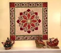 Apple Avenue Quilts: Christmas is in My Heart-My Turn & The first is a wall hanging called