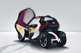 Toyota comes with 3-seat version of its i-Road | Tesla Motors Club
