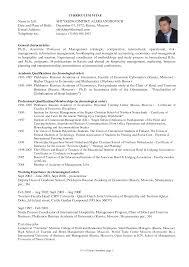 Sample Cv For Masters Application Cv Template Graduate School Cv