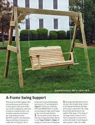 How To Build A Porch Swing Porch Swing Plans O Woodarchivist