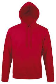 <b>Толстовка с капюшоном Snake</b> 280, красная - заказать с ...