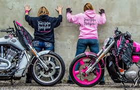 Pinky and Her Electrifying Pink Motorcycle Ride to Raise Awareness of  Distracted Driving – Biker Girl Bling