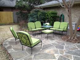 Retro Metal Yard Furniture Ideas