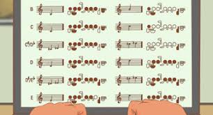Mary Had A Little Lamb Flute Finger Chart