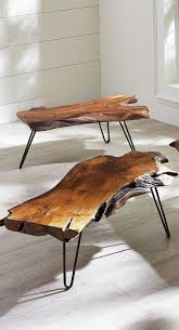 Coffee Tables, Awesome Teak Rectangle Wood Unique Coffee Tables Design  Ideas To Complete Living Room ...
