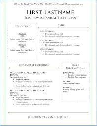 Free Printable Resume Custom Sample Free Printable Resume Examples Samples Of Modern Excellent