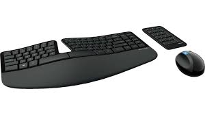 microsoft sculpt ergonomic desktop keyboard and mouse combo