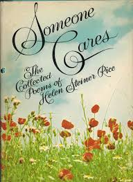 someone cares the collected poems of helen steiner rice harder 1972