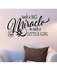 flower big miracle in a little girl wall art sticker decal 22 inches x 32 on little black girl wall art with great deal on flower big miracle in a little girl wall art sticker