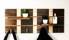 Wooden Coat Rack Wall Mounted Shelf Wall Mounted Coat Rack With Shelf VisualizeUs 97