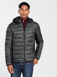 v by very men lightweight padded jacket v by very lightweight padded jacket 1600270868 fdonojr