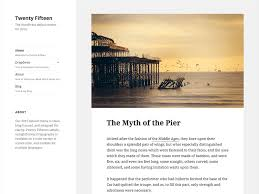 Twenty Fifteen Wordpress Theme Wordpress Org