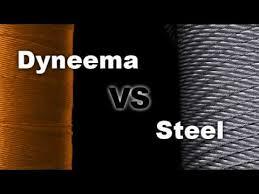 Dyneema Rope Vs Steel Rope Strength Test Break Test