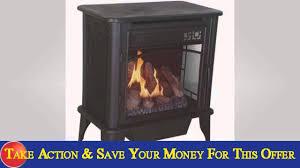 vent free dual black natural gas fuel stove slide you