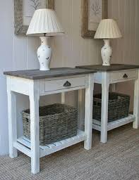 Fabulous White End Tables For Bedroom Best 20 White End Tables Ideas On  Pinterest Decorating End