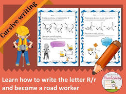 How To Right A Letter New Learn How To Write The Letter R Cursive Style And Become A Road