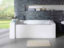 delano 60 x 30 white rectangle alcove soaking bathtub right