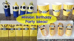 Minion Birthday Party Minion Birthday Party Ideas Youtube