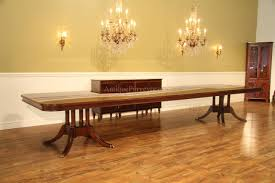 Extra Large Traditional Mahogany Dining Table 16 ft American Made