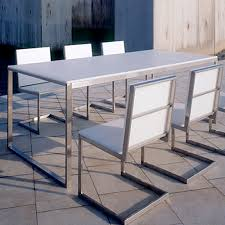 modern outdoor dining furniture. Simple Furniture Gandia Blasco Mesa Luna Modern Outdoor Dining Table And Furniture R