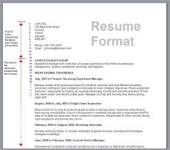How To Format Resume | Learnhowtoloseweight.net
