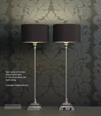 peculiar black shades tall table lamps living room uk design tall